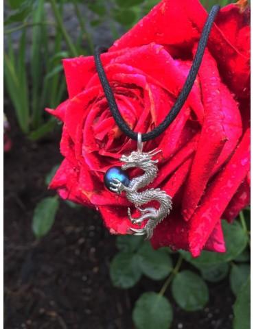 Silver Dragon pendant